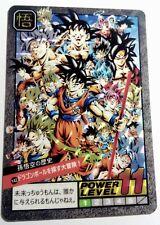 Carte dragon ball  Fancard super battle Custom card prism Y42 Part 5 Yjj