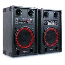 Altavoz Activo PA Parlante Sonido Eventos Doble Subwoofer DJ Concierto -B-STOCK
