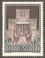 Mint Hinged Austrian Stamps