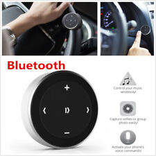 1X Car Steering Wheel Bluetooth Media Audio Music Button Remote Controller Black