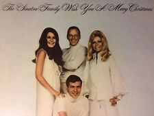 """(New) THE SINATRA FAMILY-""""The Sinatra Family Wish You A Merry Christmas"""" LP-1969"""