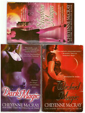 Lot of 3 Cheyenne McCray books - Wicked Magic, Shadow Magic, Dark Magic