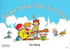 Guitar Starter Pour Les Petits by Cees Hartog, NEW Book, FREE & FAST Delivery, (