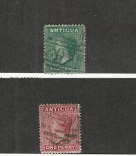 Antigua, Postage Stamp, #7, 8 Used, 1872-73