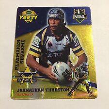 NRL Tazo North Queensland Cowboys Johnathan Thurston