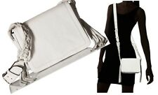 REBECCA MINKOFF WENDY Messenger CrossBody Shoulder Bag Braided Strap Fringe NWT