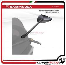 Barracuda coppia specchietti retrovisori omologati per Yamaha Tmax 500 2008>2011