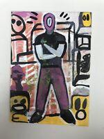 Hasworld Original,painting,signed,Pop Art,Impressionism,abstract Graffiti,street
