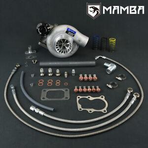 "MAMBA 12-6 Billet Turbo For Nissan TD42 GQ Top Mount 3"" TD05H-16G 6cm Hsg"