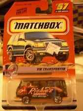 Matchbox VW Transporter  #57 Richie's Pizzeria
