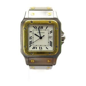Cartier Watch  AC2380gr Santos Galbee LM 18K Bezel no issue to use 1808404