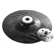 Rubber Backing Pad for Sanding Sander Polisher/Angle Grinder M14 180mm Diameter