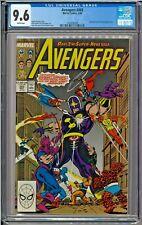 Avengers #303 CGC 9.6 White Fantastic Four Quasar Firelord West Coast Avengers