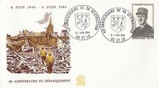 FRANCE : 1984 40th ANNIVERSARY OF D.DAY-ST LO special cancel