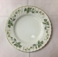 """MINTON """"GREENWICH"""" SALAD PLATE 7 7/8"""" WHITE BONE CHINA MADE IN ENGLAND NEW"""