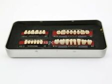 1 box/set new Dental False Tooth Teeth Denture M32 size A2 color 28-pcs Teeth