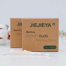 JIEJIEYA® UK's NO.1 BAMBOO/WOODEN COTTON BUDS VEGAN ECO FRIENDLY BIODEGRADABLE