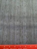 Wood Grain Boards Planks Slats Rustic Farmhouse Blue Cotton Fabric BTY
