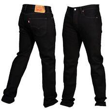 Levis 501 Original Fit Mens Jeans Straight Leg Button Fly 100%25 Cotton Black