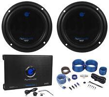 """(2) PLANET AUDIO AC10D 10"""" 3000W Subwoofers+AC2000.2 2 Channel Amplifier+Amp Kit"""