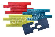 Set of 5 Pc Concrete Vertical Stamp Mats WSM 105200. Wood Texture Concrete Mats