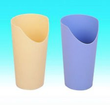 NOSE CUTOUT CUP - BLUE