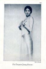 Tänzerin Jenny Steiner ( v.Bucovich ) Künstler-Photographie c.1928