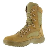 Reebok Women Men Unisex Fusion Max Tan Military Tactical Work Boot Wide USA  Made bc558da6a