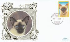 (81191) Guyana Benham FDC Cats - 1 March 2001