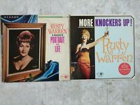 2 Vintage Rusty Warren Records 33 RPM LP Sings Portrait on Life & More Knockers