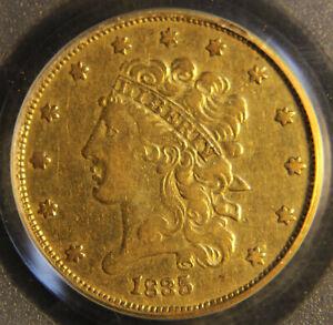 1835 $5 Gold Half Eagle, Nice Vintage Piece, PCGS VF-35 [#419]