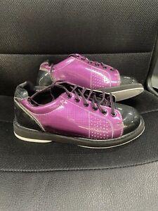 Women's Bowling Shoes Purple New Sz 9.0 New X-Strike Womens Bowling Shoes