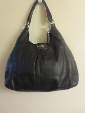 COACH Black Leather Shoulder Bag Satchel