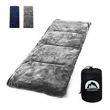 """New listing Sleeping Cot Pads 75"""" x 29"""" Portable for Camping & Hiking with Elastic Straps..."""