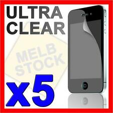 5x Ultra Crystal Clear Screen Protector LCD Guard Film for Apple iPhone 4S 4G 4