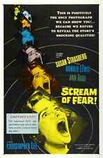 Scream Of Fear Poster 01 Metal Sign A4 12x8 Aluminium