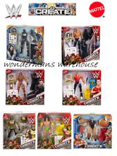 WWE Create A Superstar Figure- John Cena/Dean Ambrose/Roman Reigns/Triple H-NEW