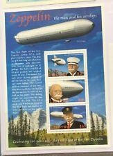 Lesotho -Mnh- Zeppelin Airships - One miniature sheet- #1988