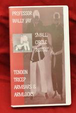 Wally Jay - Small Circle Jujitsu - Tendon Tricep Armbars & Armlocks vhs 1995