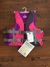 Womens Stearns Hydroprene Life Jacket Pink Purple Size L / Xl Nwt