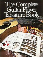 The Complete Guitar Player Tablature Book - Book New 014007257