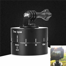 For Gopro DSLR Time Lapse Stabilizer 360° Panning Rotating Tripod Adapter AU