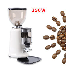 110v 350w Super Espresso Coffee Grinder Burr Mill Machine Home Commercialhopper