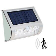 Solar Wandleuchten  Wandlampen mit Bewegungsmelder in kaltweiß 70-80 LM