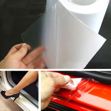 "6x60"" DIY Clear Vinyl Car Door Sill Edge Paint Anti-Scratch Protector Film Sheet"
