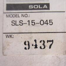 Sola Sls 15 045 Power Supply New