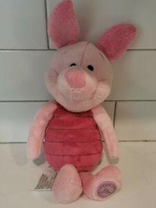 "Disney Store Winnie the Pooh VERY SOFT PIGLET 15"" Plush Stuffed Animal Toy"