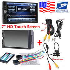 2Din Car MP5 Player 7inch Touch Screen Radio Audio Stereo Bluetooth FM+HD Camera