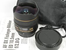 Nikon AF FISHEYE NIKKOR 10,5mm 1:2,8G DX ED 2,8/10,5 mm