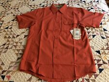 New Royal Robbins Sz.S Vented S/S Expedition Light Concealed Carry Shirt (TG4